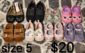 Toddler size 5 shoes for Sale in Fresno, CA