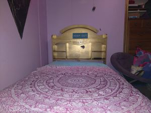 Twin bed frame with mattress for Sale in Kentwood, MI