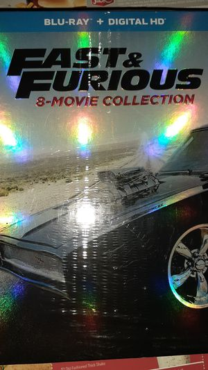 Fast & Furious 8-Movie Collection for Sale in Garden Grove, CA