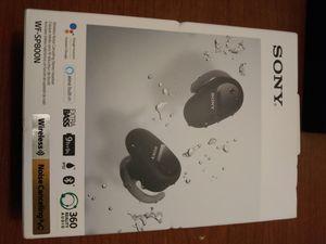Sony Bluetooth headphones WG-SP800N for Sale in Millcreek, UT