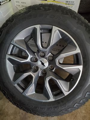 Chevy Silverado GMC Sierra 20 inch Wheels for Sale in Humble, TX