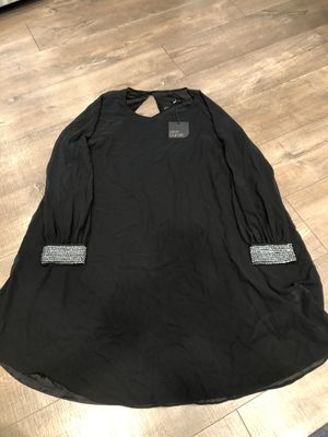 ASOS Curve, black long-sleeve dress with rhinestone cuffs for Sale in Walnut Creek, CA