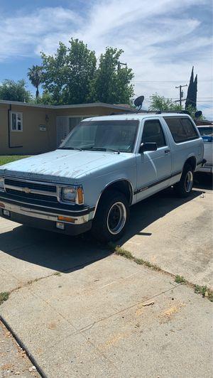 91 Chevy blazer for Sale in Stockton, CA