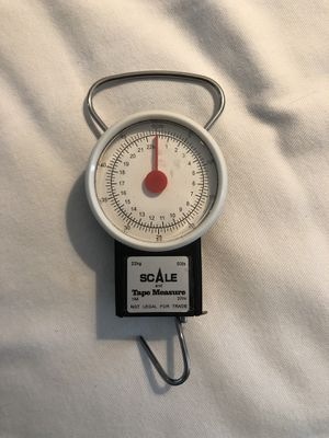 Fishing scale and tape measure for Sale in Apex, NC