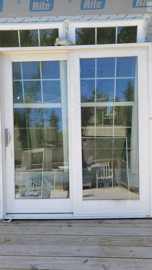 Fiber glass sliding door for Sale in Alexandria, VA