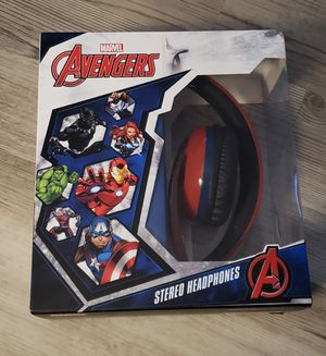 Marvel Avengers Headphones Foldable Superheroes Iron Man Captain America NEW for Sale in Apopka, FL