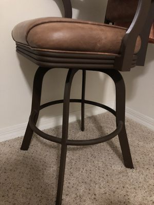 Leather bar stools for Sale in Tampa, FL