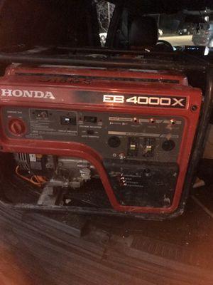 Honda Generator EB4000X for Sale in Chicago, IL
