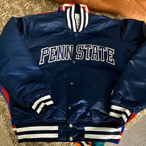 Vintage Penn State Satin Starter Jacket Size Medium for Sale in Stockton, CA