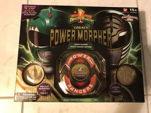 Green/White Power Ranger SDCC 2013 Exclusive 24k Gold Plated Morpher for Sale in San Diego, CA