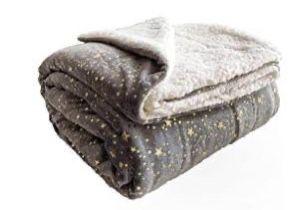 Fuzzy Blanket Throw Size - Grey for Sale in Mukilteo,  WA