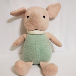 "Gund Disney Classic Pooh Piglet Plush Green Pink Stuffed Animal 12"" Tall Toy for Sale in La Grange Park, IL"