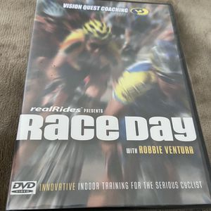 NEW still Sealed RACE DAY Indoor Bike training DVD Vision Quest Coaching for Sale in Glastonbury, CT