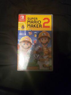 Super Mario Maker 2 (Nintendo Switch) for Sale in Stanley,  VA