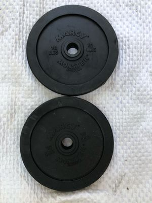 10 pound set of weight plates for Sale in Los Angeles, CA