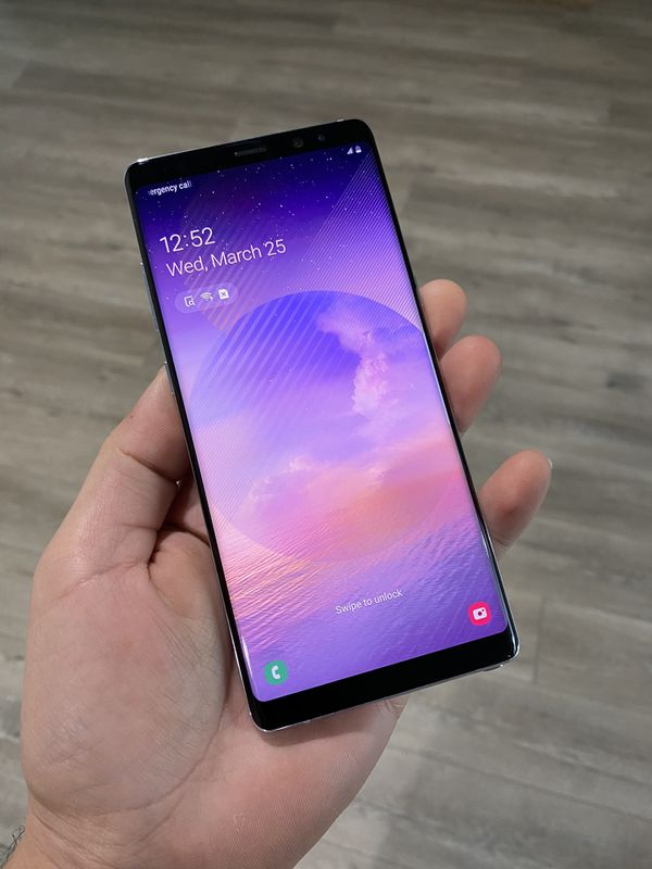 Samsung Note 8 64gb orchid gray ( violet) LIKE NEW!! Clean imei • At&t•Cricket