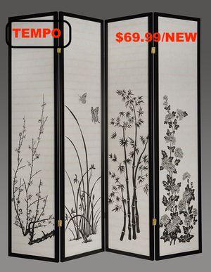 4-Panel Room Divider, Print for Sale in Westminster, CA