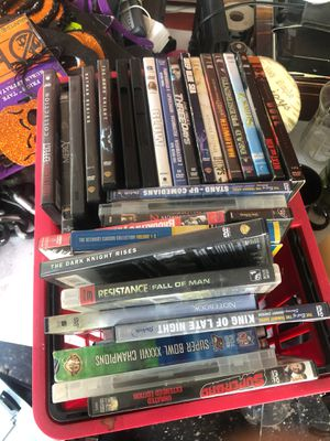 Movies PlayStation games and XX X movies for Sale in Winter Haven, FL