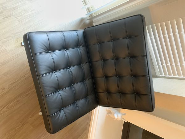 Barcelona chair (quality) Leather!