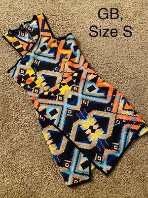 GBX, Multicolored Asymmetrical Mini Dress, Size S for Sale in Phoenix, AZ