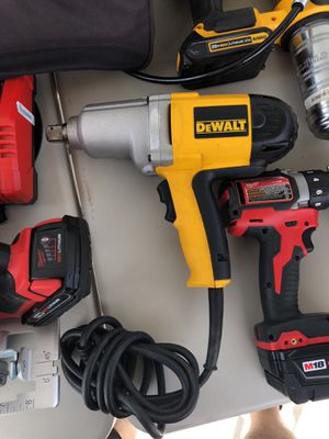 "3/4"" Dewalt impact wrench corded for Sale in Las Vegas, NV"