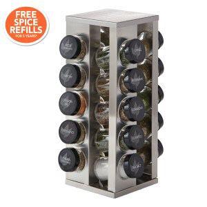 Pfaltzgraff 20- Jar Revolving spice rack for Sale in Foster City, CA
