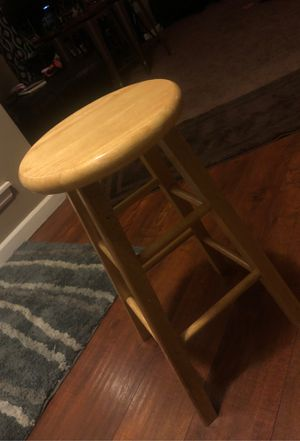 Wooden Bar Stool for Sale in BETHEL, WA