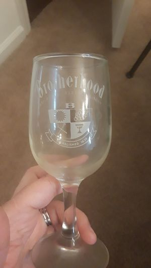 Collectible Brotherhood Wine Glasses for Sale in Morrisville, NC