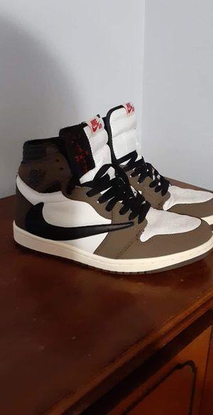 Travis scott Nike air Jordan 1 sz 9.5 for Sale in Green Bay, WI