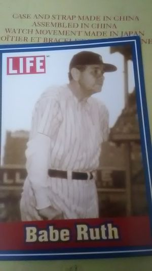 babe Ruth baseball card from Life magazine for Sale in Pico Rivera, CA