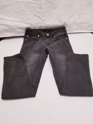 👖🖤 black denim pants girl size 10 years in excellent condition 👖🖤 for Sale in Portland, OR