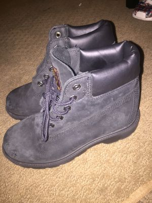 Black size1 kids timberlands for Sale in Washington, DC