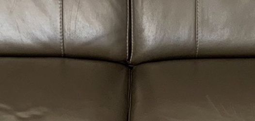 Leather Sofa Bed Gray for Sale in Fort Lauderdale,  FL