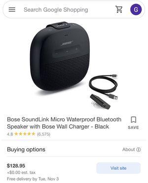 Bose mini speaker for Sale in Visalia, CA