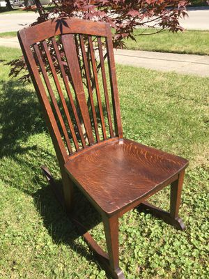Mission Style Rocker for Sale in Lockport, IL