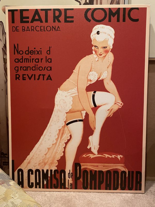 Large Barcelona Canvas Picture
