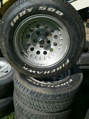 ULTRA RIMS AND FIREHAWK TIRES for Sale in Jackson, NJ