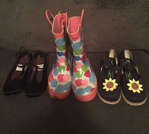 3 Pairs of Girls Size 12 Shoes ~GYMBOREE & GAP~ $10 for 3 Pairs for Sale in Ankeny, IA