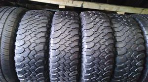 Four BFGOODRICH tires for sale 255/75/17 for Sale in Washington, DC