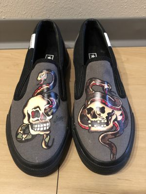 Converse Sailor Jerry Slip-Ons // Size 7.5 Women's for Sale in Portland, OR