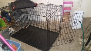 Xx large dog crate / cage 4ft long 33 inches high and 30 inches wide for Sale in Fort Myers, FL
