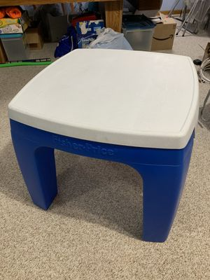 Fisher Price Storage Table with 2 IKEA Kids Chairs for Sale in UPR MAKEFIELD, PA
