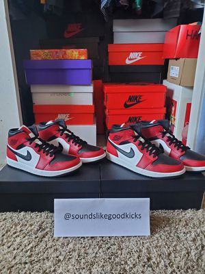 Jordan 1 mid chicago toe for Sale in San Diego, CA