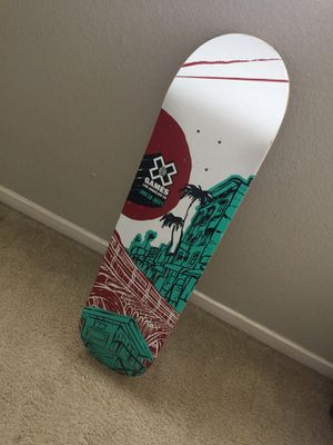 XGAMES skateboard deck $40 obo for Sale in Santa Maria, CA