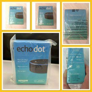>>>☆🎁Amazon•Echo•Dot•2nd Generation•Alexa•Voice•Media•Device•Speaker - NEW for Sale in La Puente, CA