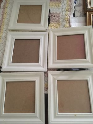 Set of 5 Farmhouse Picture Frames for Sale in Orlando, FL