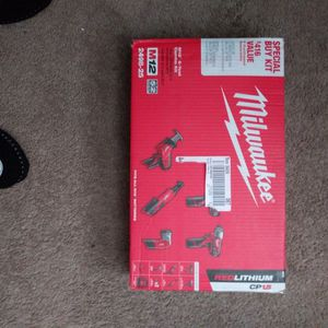 Milwaukee M12. 5-Tool Combo Kit! for Sale in Cottonwood, AZ