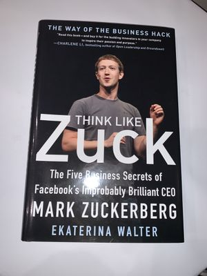 "Mark Zuckerberg Book ""Think Like Zuck"" for Sale in Pumpkin Center, CA"