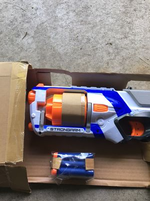 Nerf Strongarm Gun with Darts for Sale in Brooklyn Center, MN