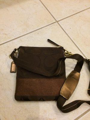 Authentic Coach shoulder/messenger bag for Sale in Port St. Lucie, FL